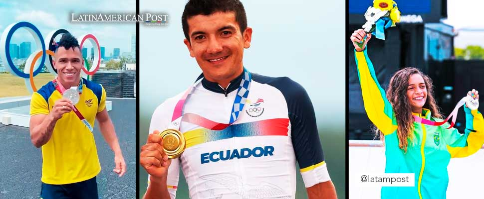 How Much Money do Latin American Athletes Receive for each Olympic Medal?
