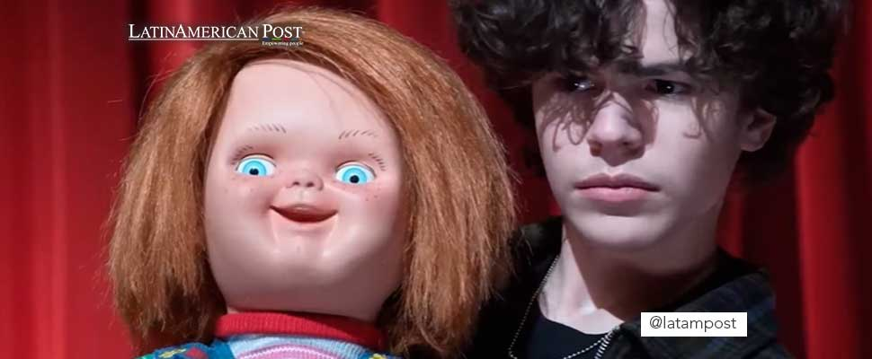 Frame from the new Chucky series