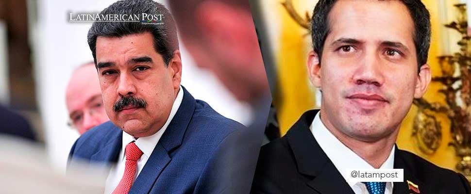 Nicolás Maduro and Juan Guaidó.