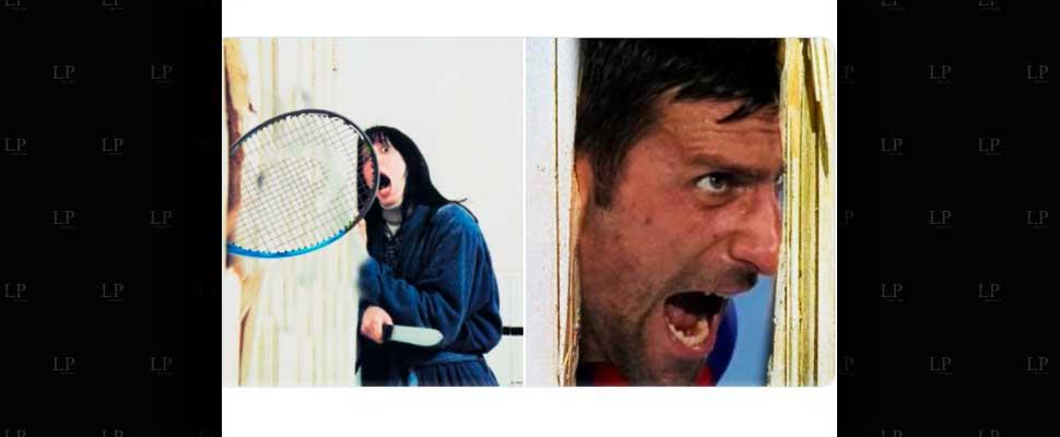 The best memes of Djokovic enraged