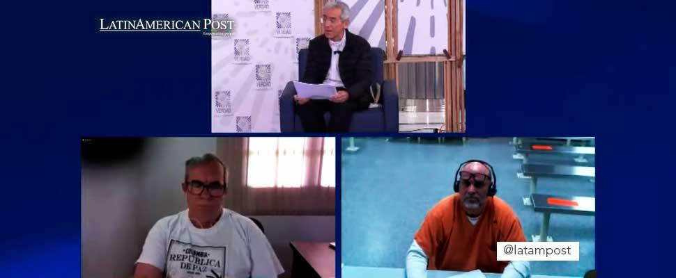 Rodrigo Londoño y Salvatore Mancuso en la declaración de Contribución a la verdad