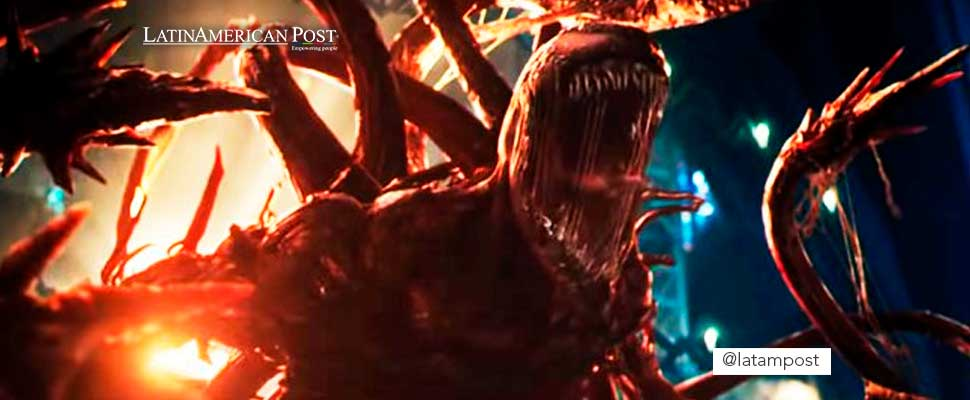 Still from the trailer for the movie 'Venom: Carnage Freed'