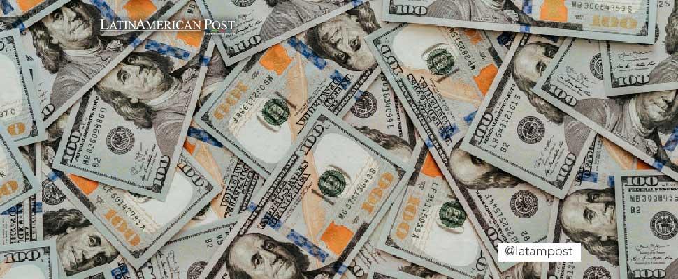 Various dollar bills