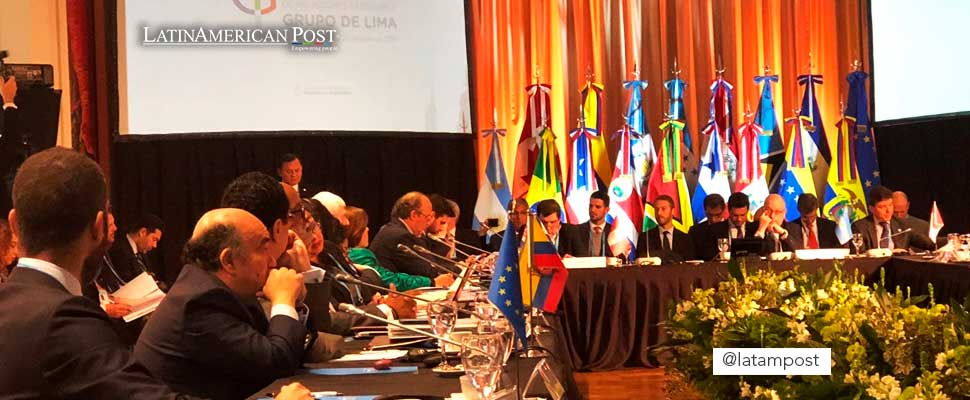 Leaders of the member countries of the Lima Group