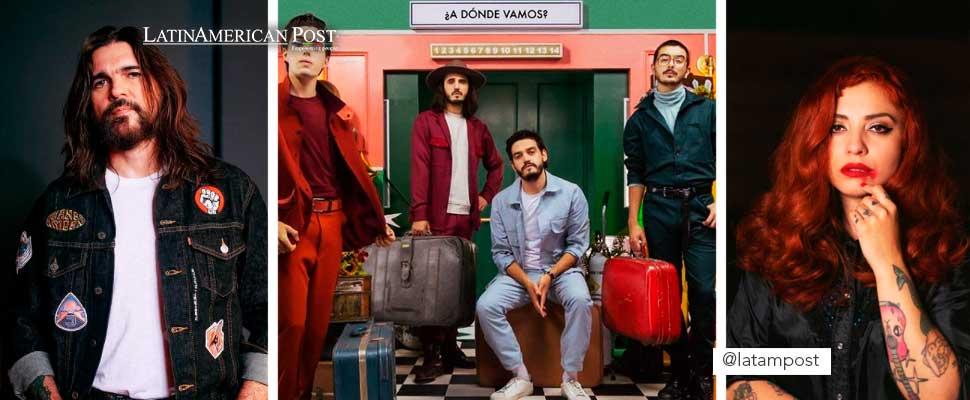 Juanes, Morat and Mon Laferte
