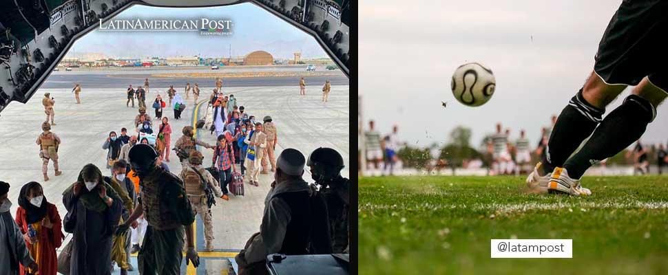 Latinoamérica en resumen: afganos refugiados en América Latina y futbolistas sin eliminatorias