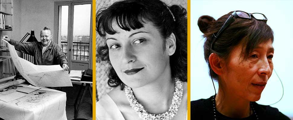 Charlotte Perriand, Lina Bo Bardi and Kazuyo Sejima