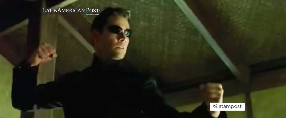 Frame from the movie 'Matrix Reloaded'