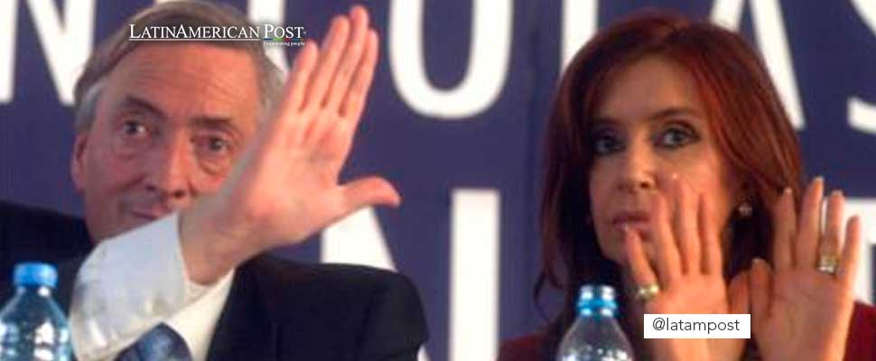 Nestor and Cristina Kirchner