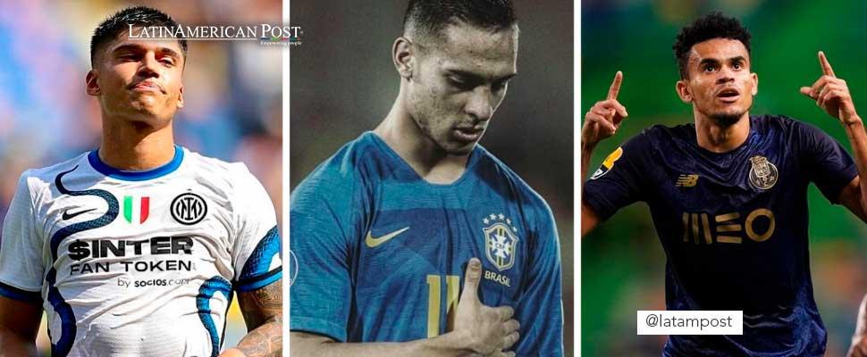 Cinco futbolistas latinos que podrían destacar en la UEFA Champions League