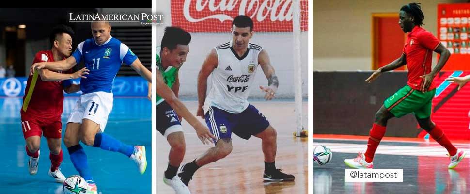 Ferrão, Cristian Borruto, Izaquiel Gómez