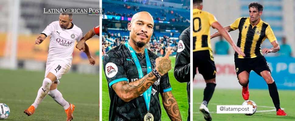 Jugadores famosos con los que se encontrará James Rodríguez en Qatar