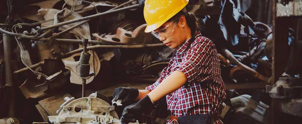 Woman mechanic