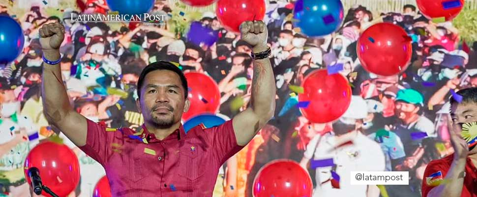 Pacquiao in announcing his candidacy for the presidency