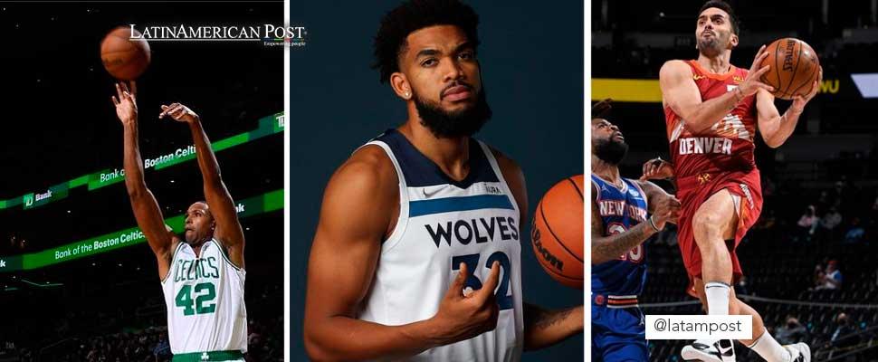 Horford, Anthony Towns y Campazzo encabezan a los latinos en la NBA