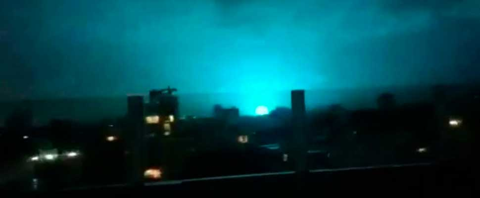 The Meaning of Blue Lights on Mexican Earthquake