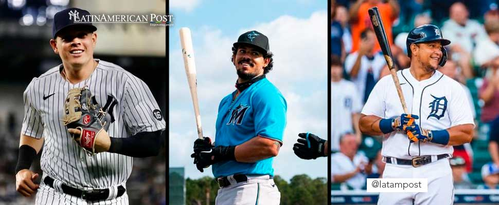 5 latinos en las Grandes Ligas Playoffs de la MLB 2021