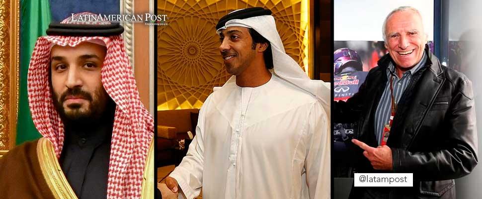 Mohammed bin Salman, Sheikh Mansour, Dietrich Mateschitz