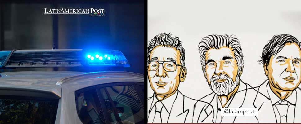 Police car and nobel prize winners