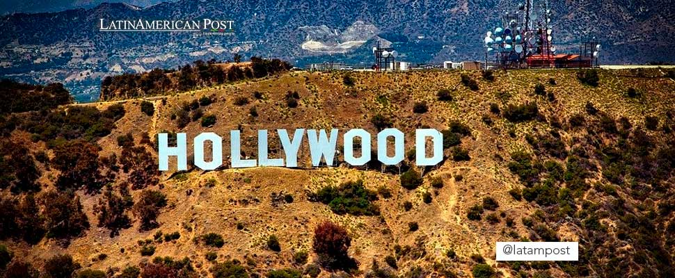 Hollywood lettering