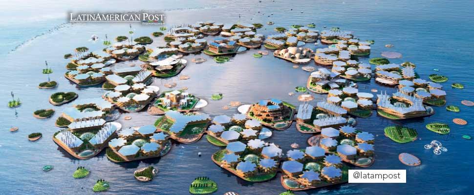 Ciudades flotantes: ¿el futuro debido el cambio climático?