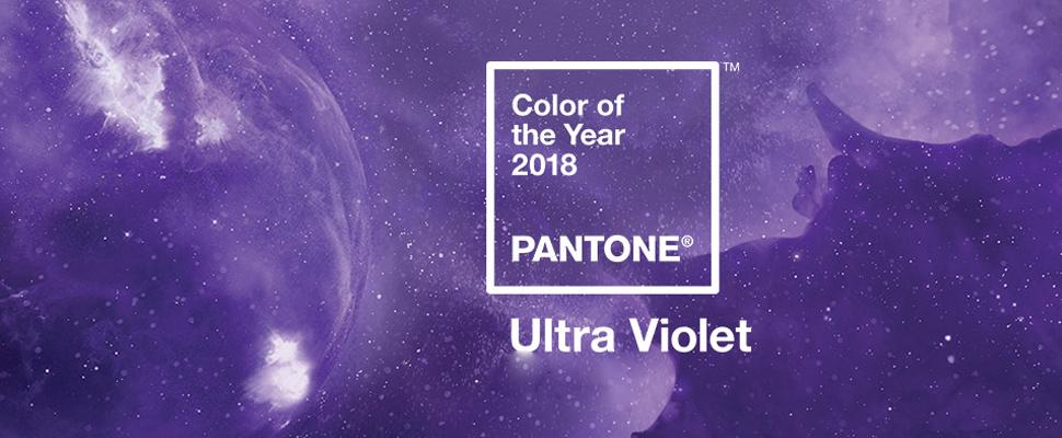 Pantone: El 2018 será un año ultravioleta