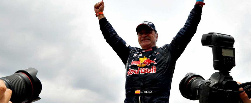 Who is Carlos Sainz, the king of the Dakar?