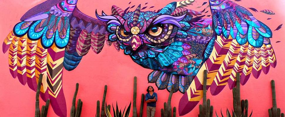 Farid Rueda: uno de los grandes del arte urbano en México