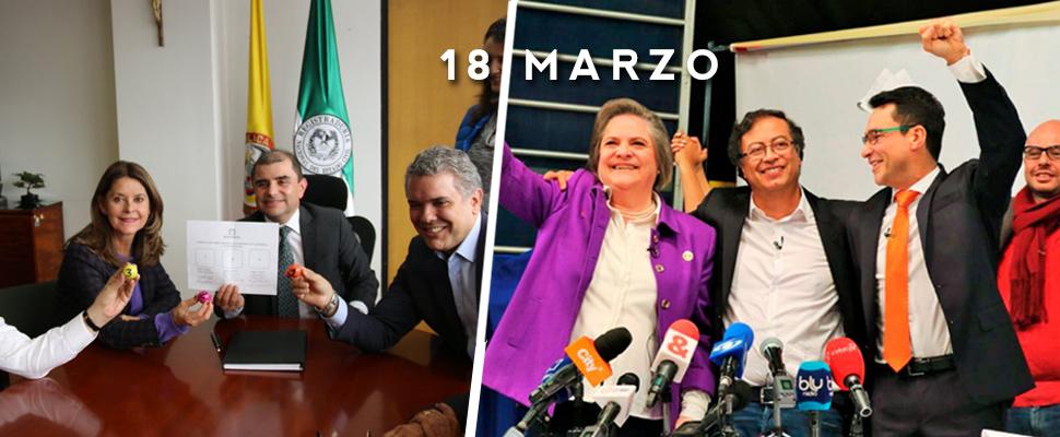 Coaliciones: Así será la contienda presidencial en Colombia