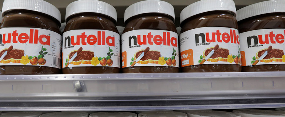 What happened to the Nutella?