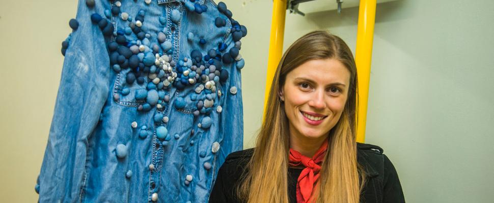 Serena García, una chilena que ha sabido aplicar el arte experimental en sus obras