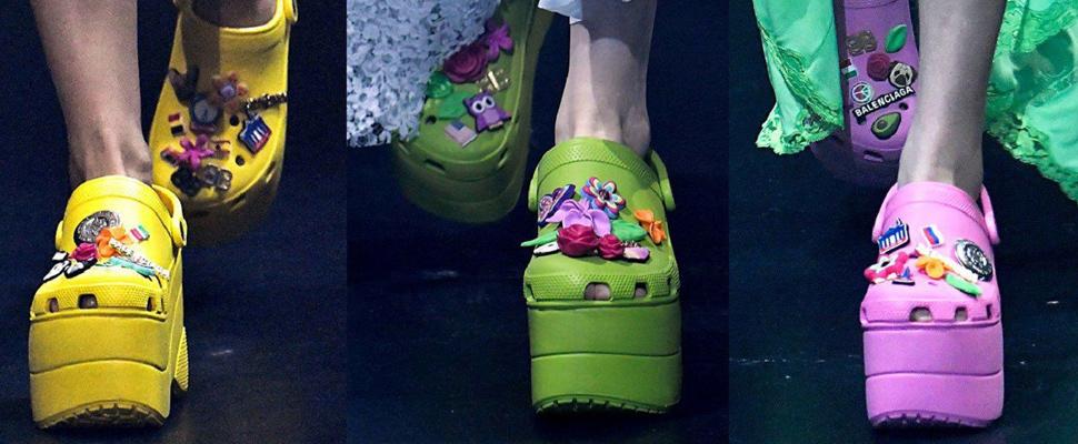 What are the Balenciaga's crocs?