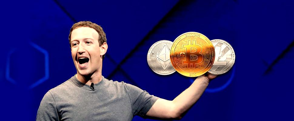 Facebook against cryptocurrencies