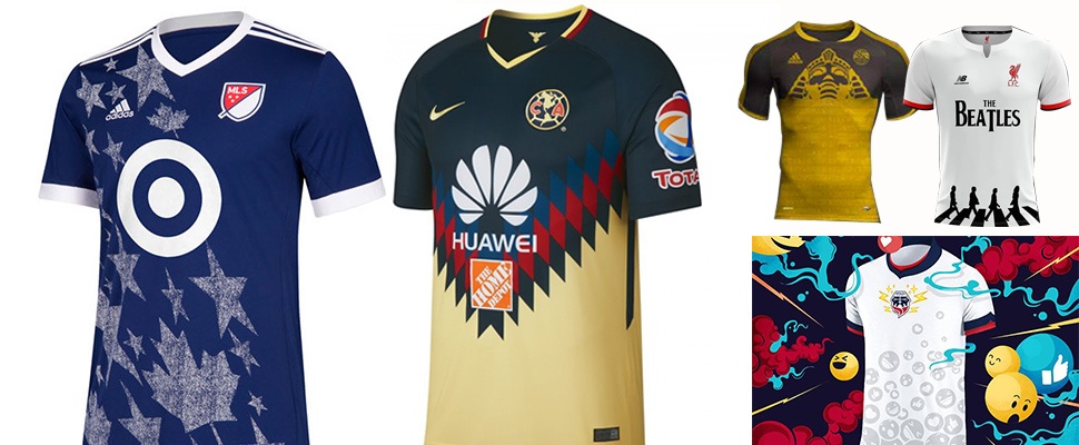 2018  ¿Cuáles son los uniformes de fútbol más llamativos ... ccccff0810c07