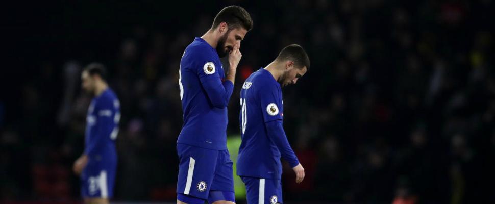 Chelsea's freefall?