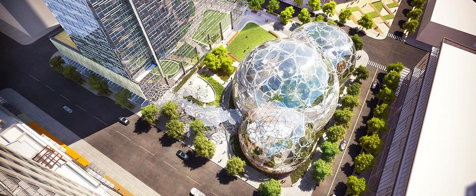 Biosferas de Amazon: una nueva forma de construir