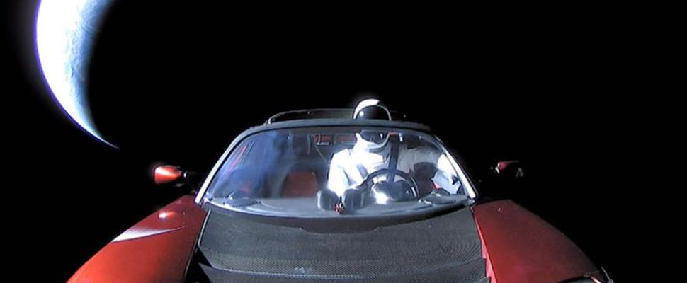 ¿Un automóvil cósmico?