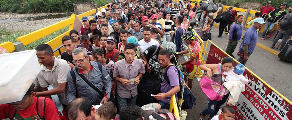 Foto Crisis migratoria frontera con Venezuela