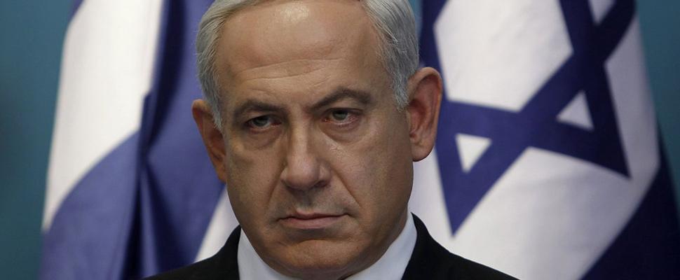 Primer ministro israelí en apuros