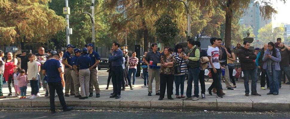 México responde ante sismo de magnitud 7.2
