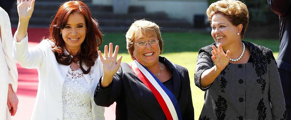 América Latina: Sin mujeres en el poder