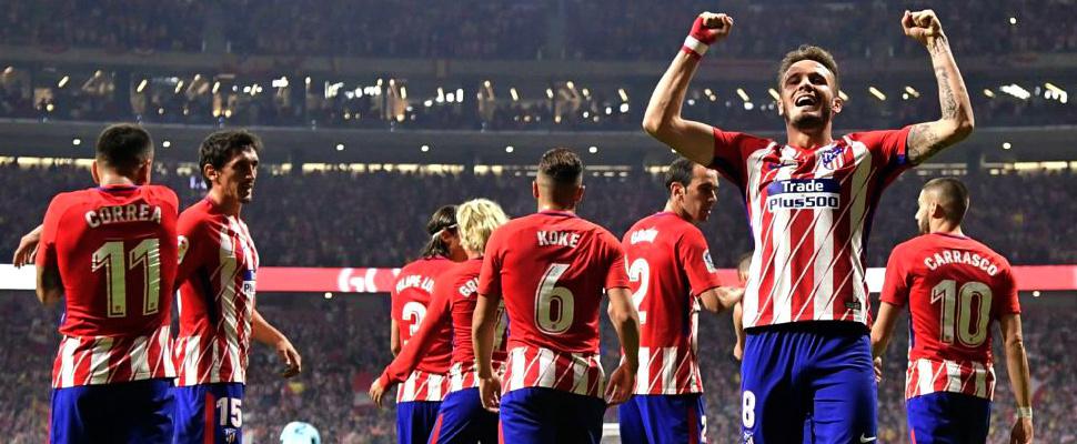 The progress of Atletico Madrid