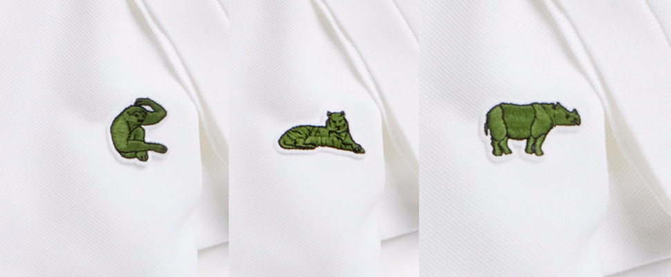 Lacoste: which animals have replaced the famous crocodile?