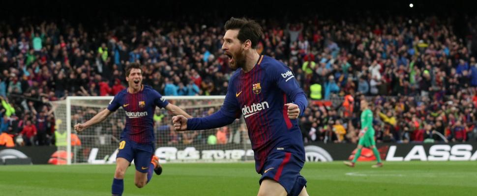 Has F.C. Barcelona already won the League?