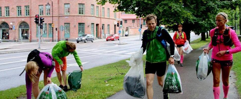 'Plogging': La nueva tendencia de recoger basura al trotar
