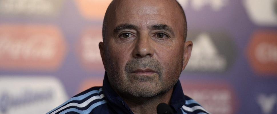 Sampaoli and his strategy for Russia 2018
