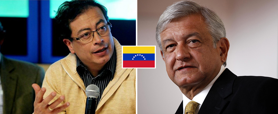 Is Venezuela funding presidential candidates in Mexico and Colombia?
