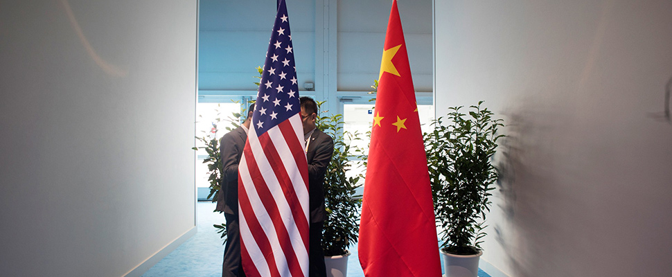 Who would be harmed in a commercial conflict between the United States and China?
