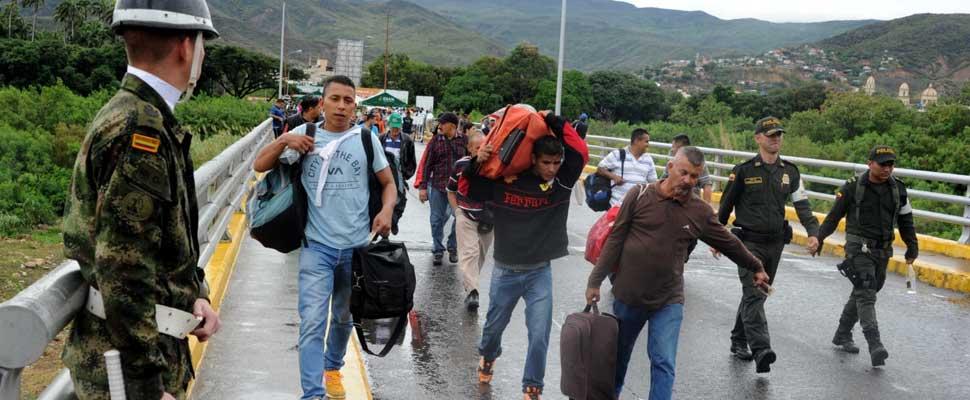 Migraciu00f3n de venezolanos a Colombia