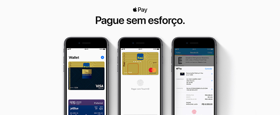 Apple Pay ahora disponible en Brasil